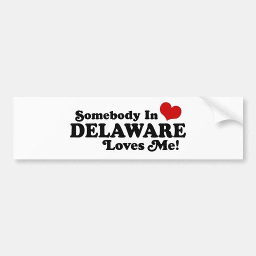 Delaware Car Bumper Sticker
