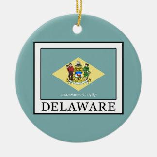 Delaware Ceramic Ornament