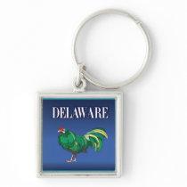 Delaware Chicken Keychain