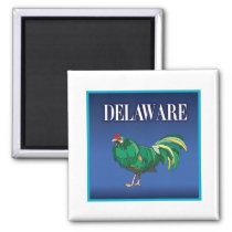 Delaware Chicken Magnet