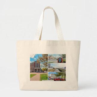 Delaware City. Large Tote Bag