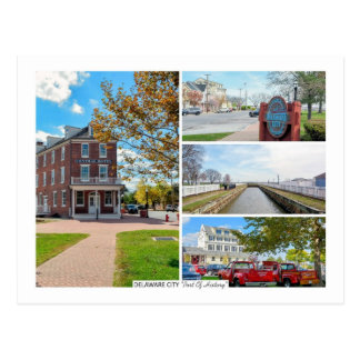 Delaware City. Postcard