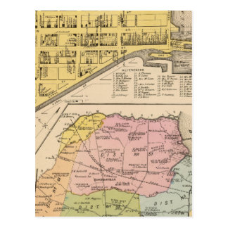 Delaware City, Red Lion Postcard