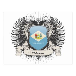 Delaware Crest Postcard