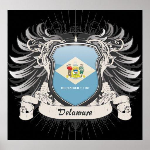 Delaware Crest Print
