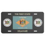 Delaware Custom Front License Plate License Plate