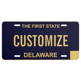 Delaware Custom License Plate