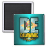 Delaware (DE) 2 Inch Square Magnet