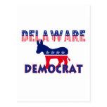 Delaware Democrat Postcard