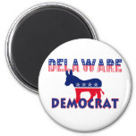 Delaware Democrat Refrigerator Magnets