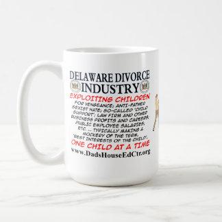 Delaware Divorce Industry. Mugs