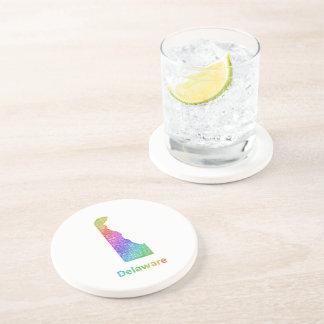 Delaware Drink Coaster