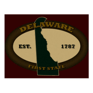 Delaware Est 1787 Post Cards