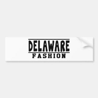 Delaware Fashion Designs Bumper Stickers