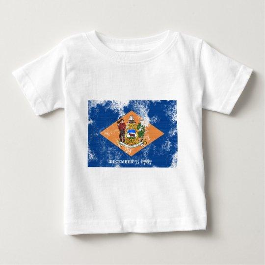 Delaware Flag Baby T-Shirt