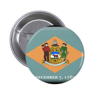 Delaware Flag Button