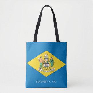 DELAWARE Flag Design - Tote Bag