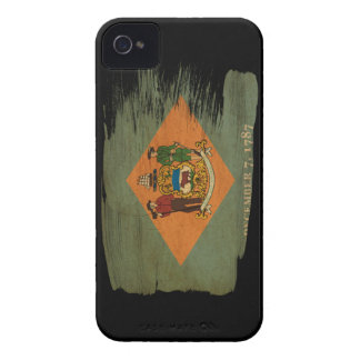 Delaware Flag iPhone 4 Case
