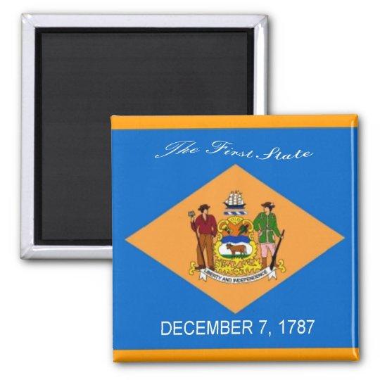 Delaware Flag Magnet