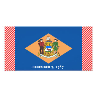 Delaware Flag Picture Card