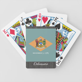 Delaware Flag Playing Cards