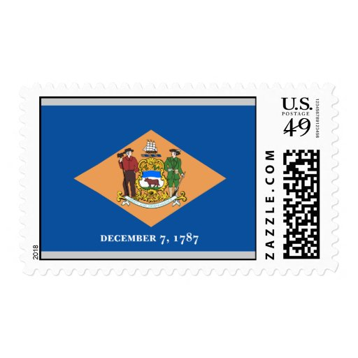 Delaware Flag Postage