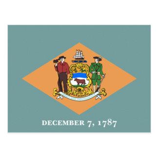 Delaware Flag Post Cards