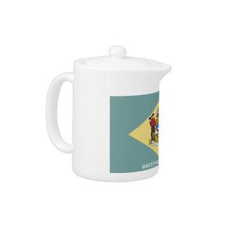 Delaware Flag Teapot