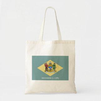 Delaware Flag Tote Bag