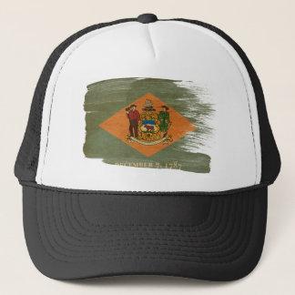 Delaware Flag Trucker Hat