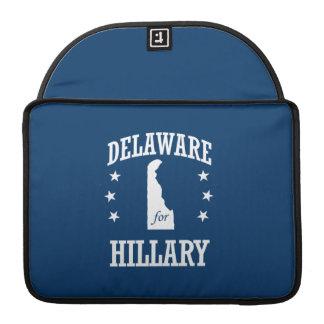 DELAWARE FOR HILLARY MacBook PRO SLEEVE