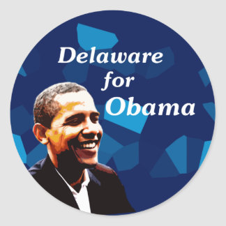 Delaware for Obama Sticker