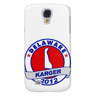 Delaware Fred Karger Samsung Galaxy S4 Cases