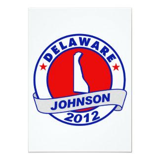 Delaware Gary Johnson Card