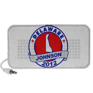 Delaware Gary Johnson Travel Speakers