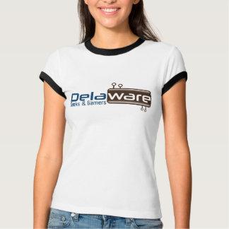 Delaware Geeks Women's Ringer T-Shirt