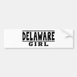 Delaware girl designs bumper stickers