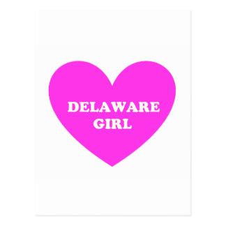 Delaware Girl Postcard