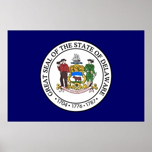 Delaware Great Seal Poster
