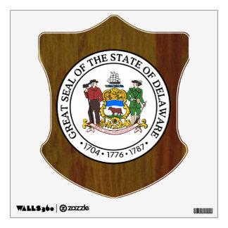 Delaware Great Seal Wall Sticker