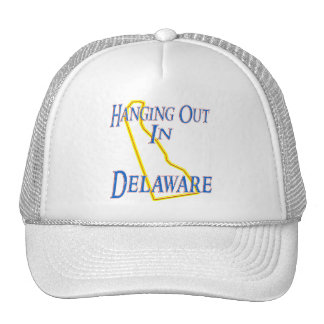 Delaware - Hanging Out Trucker Hat