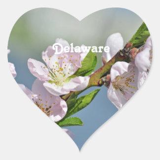 Delaware Heart Sticker