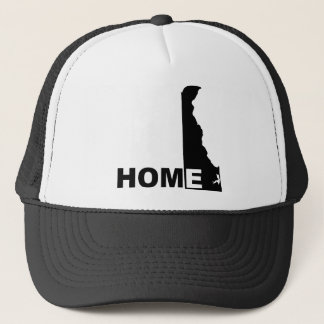 Delaware Home Away From State Ball Cap Hat