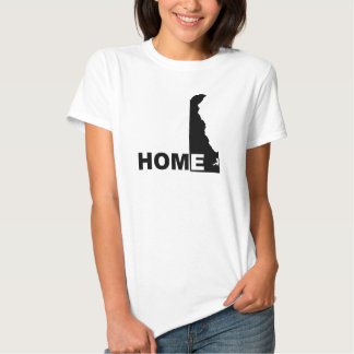 Delaware Home Away From State T-Shirt Tees
