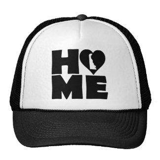 Delaware Home Heart State Ball Cap Trucker Hat