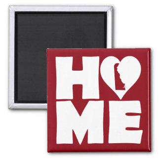 Delaware Home Heart State Fridge Magnet