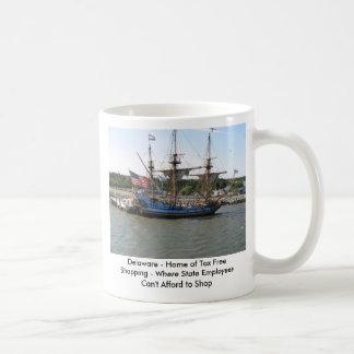 Delaware - Home of Tax Free Shopping ... Classic White Coffee Mug