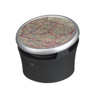 Delaware, Illinois, Indiana, and Iowa Bluetooth Speaker