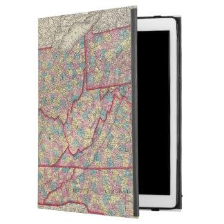 "Delaware, Illinois, Indiana, and Iowa iPad Pro 12.9"" Case"