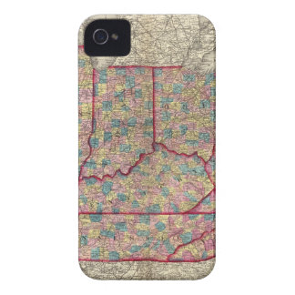 Delaware, Illinois, Indiana, and Iowa iPhone 4 Cover